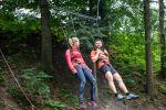 Tarzanie - Horský lanový park Ráztoka