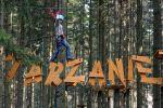 Tarzanie - Černá trasa