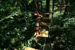 Tarzanie - Žlutá trasa
